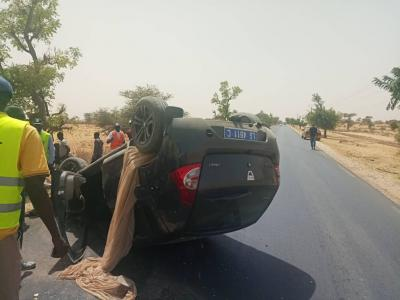 Accident sur la route Louga - Saint Louis : deux lougatois blessés gravement.